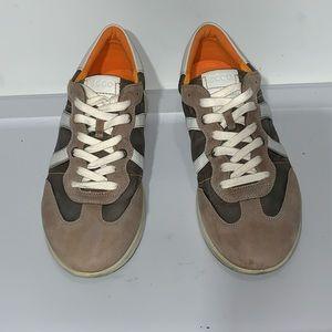 ECCO Men's Casual Sneakers Beige/Brown/White SZ 10